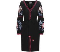 Besticktes Kleid Therese aus Baumwolle