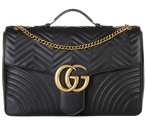 Schultertasche GG Marmont Maxi aus Leder