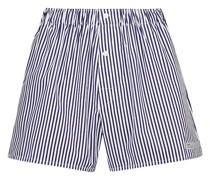 Gestreifte Shorts aus Baumwolle