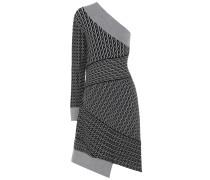 Asymmetrisches Strickkleid aus Wolle