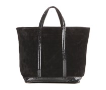 Veloursleder-Shopper Cabas Moyen