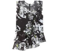 Bedruckte Bluse Vena aus Seide