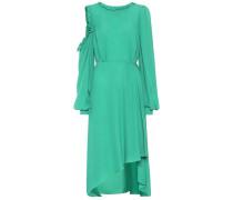 Asymmetrisches Kleid Calgiari aus Seide