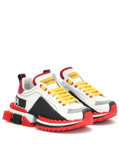 Sneakers Super Queen aus Leder