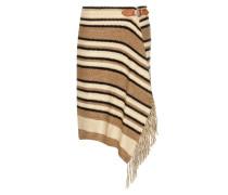 Wickelrock aus Seide, Baumwolle und Leinen