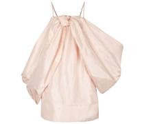 Minikleid aus Seidentaft