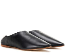 Slippers Amina aus Leder