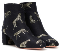 Ankle Boots Brooklyn aus Jacquard