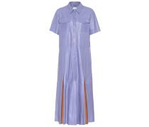 Hemdblusenkleid Jordan aus Leder