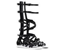Gladiatoren-Sandalen aus Leder
