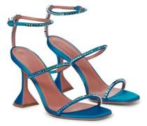 Sandalen Gilda aus Satin