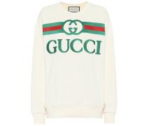 Oversize-Sweatshirt aus Baumwolle