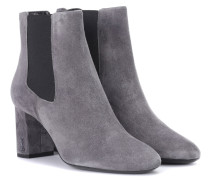 Ankle Boots Loulou aus Veloursleder