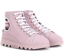 High-Top Sneakers mit Verzierung