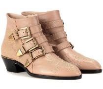 Ankle Boots Susanna aus Leder
