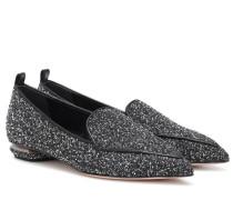 Loafers Beya aus Tweed