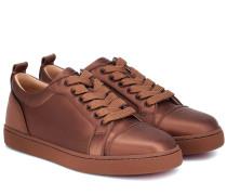 Sneakers Louis Junior aus Satin