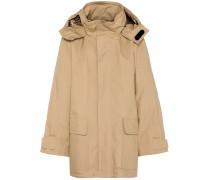 Oversize-Mantel aus Stretch-Baumwolle