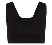 Cropped-Top aus Rippstrick