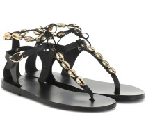Sandalen Chrysso Gold Shells