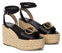 Espadrille-Sandalen VLOGO aus Leder