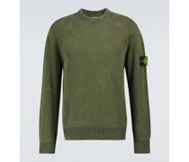 Pullover aus Baumwoll-Rippstrick