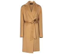 Mantel Cenda aus Wolle und Kaschmir