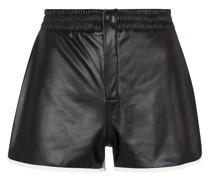Shorts Ganya aus Lederimitat