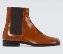 Chelsea Boots Tabi aus Leder