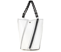 Bucket-Bag Medium Hex aus Leder