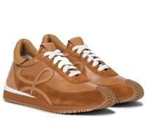 Sneakers Flow Runner mit Veloursleder