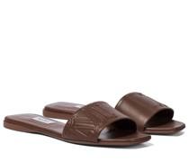Pantoletten Musa aus Leder