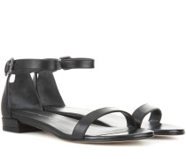 Sandalen Nudisflat aus Leder