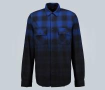 Batik-Hemd aus Baumwolle