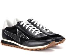 Leder-Sneakers Astor Lightning Bolt