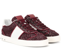 Garavani Sneakers Sould Rockstud mit Glitter
