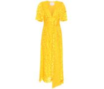 Asymmetrisches Kleid aus Jacquard