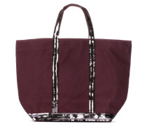 Paillettenverzierter Shopper Cabas Medium