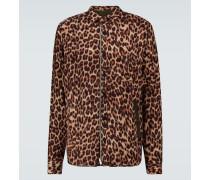 Hemdjacke Leopard Shrivel aus Wolle