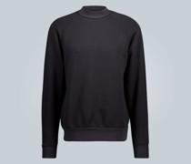 Baumwoll-Sweatshirt mit Stehkragen
