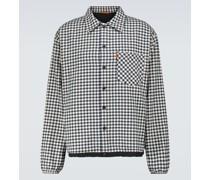 Karierte Hemdjacke Batelo aus Baumwolle