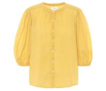 Bluse Emberly aus Baumwolle