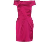 Off-Shoulder-Kleid Herland aus Satin