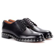 Garavani Verzierte Schnürschuhe aus Leder