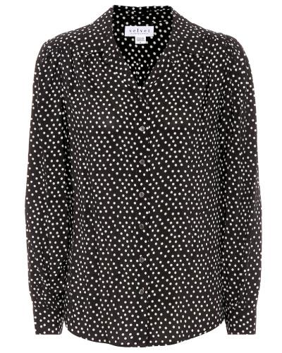 Bluse Ardelle mit Polka-Dots