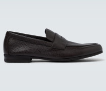 Loafers Thorne aus Leder