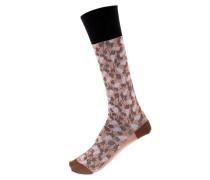 Socken mit Baumwolle
