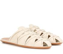 Slippers Capri aus Leder
