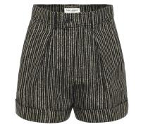 Shorts aus einem Leinengemisch