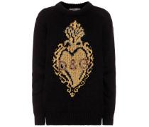 Pullover aus Cashmere und Wolle